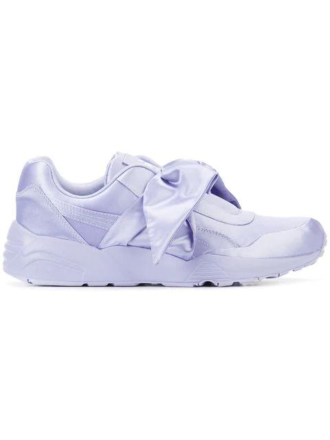 size 40 3c782 026d9 Purple Fenty X By Rihanna Bow Sneaker in Pink