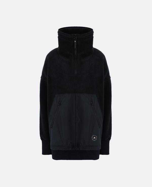 Stella Mccartney Black Fleece Sweatshirt