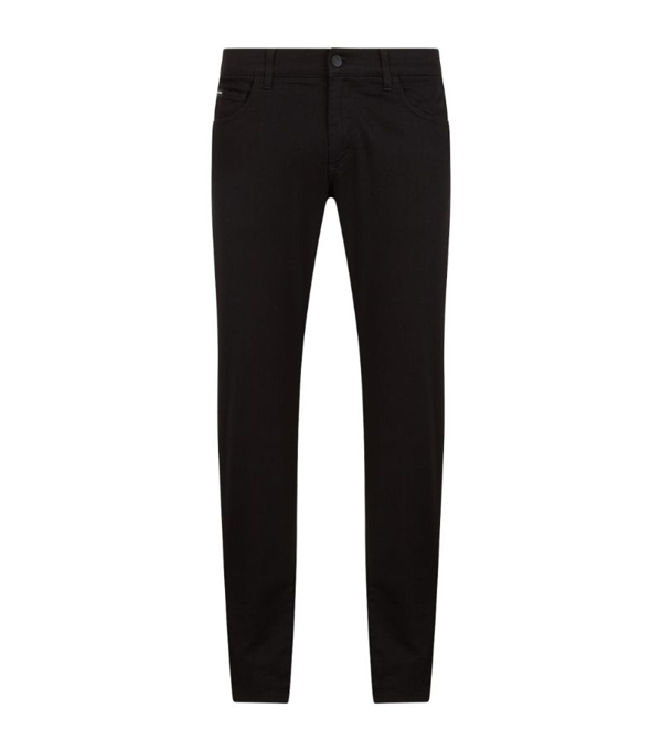 Dolce & Gabbana Skinny Fit Dna Jeans In Denim