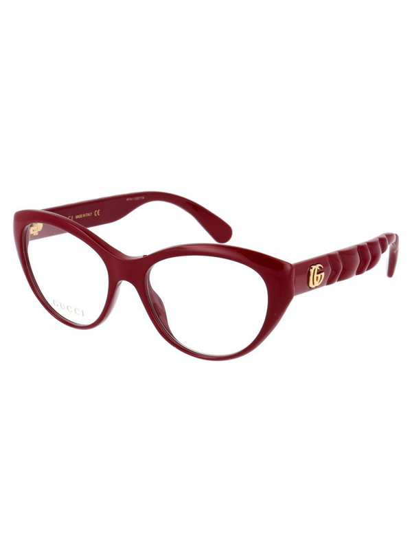 Gucci Women's Red Acetate Glasses