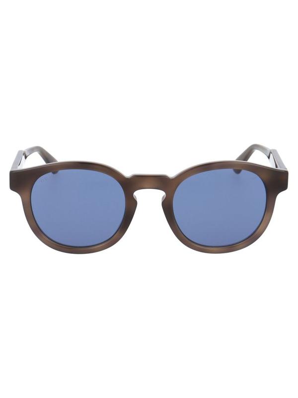 Gucci Men's Brown Metal Sunglasses