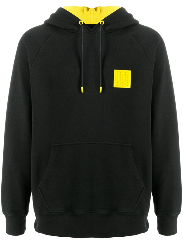 Levi's X Lego Capsule Customisation Detail Hoodie Relaxed Fit In Black-multi