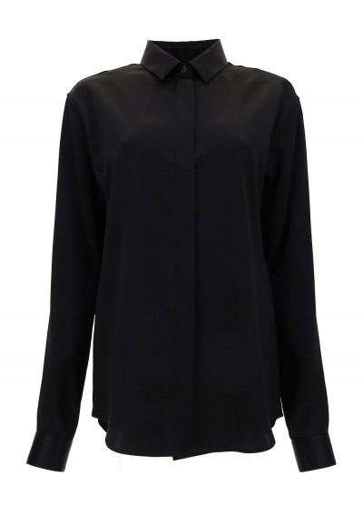 Saint Laurent Shirt In Nero