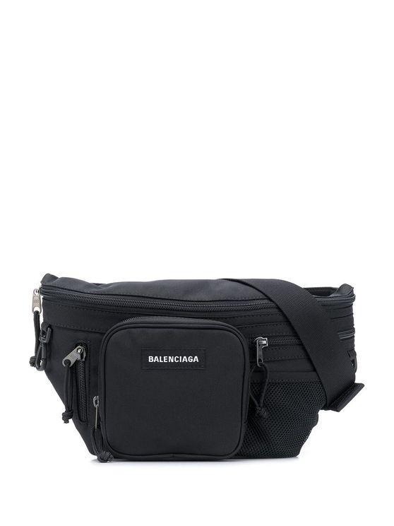 Balenciaga Belt Bag In Black