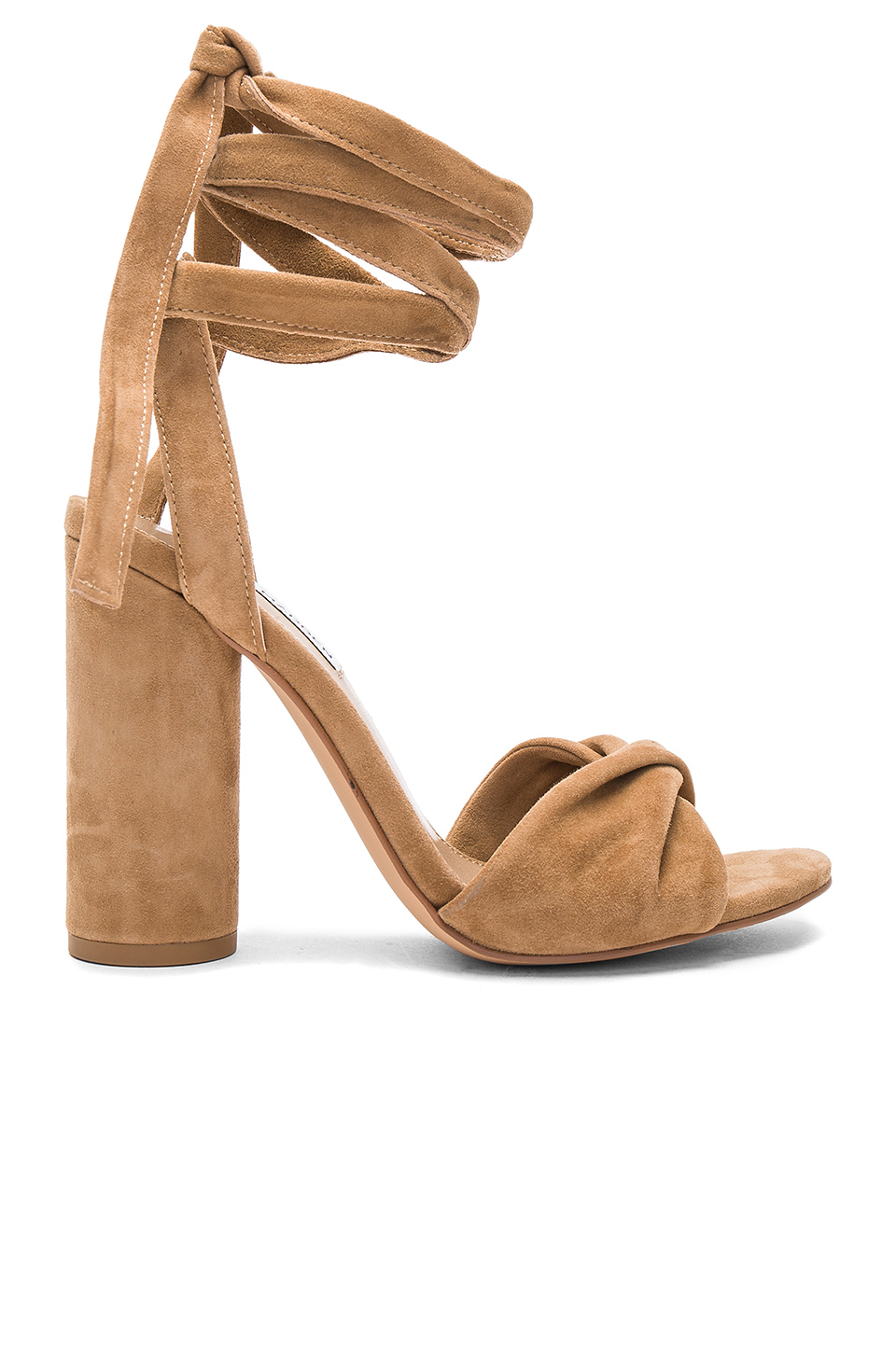 d28ab7a07b4 Steve Madden Clary Heel In Camel Suede