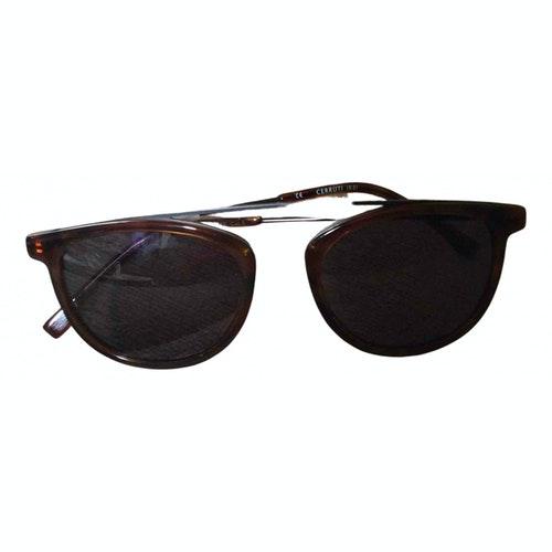 Pre-owned Cerruti 1881 Brown Sunglasses