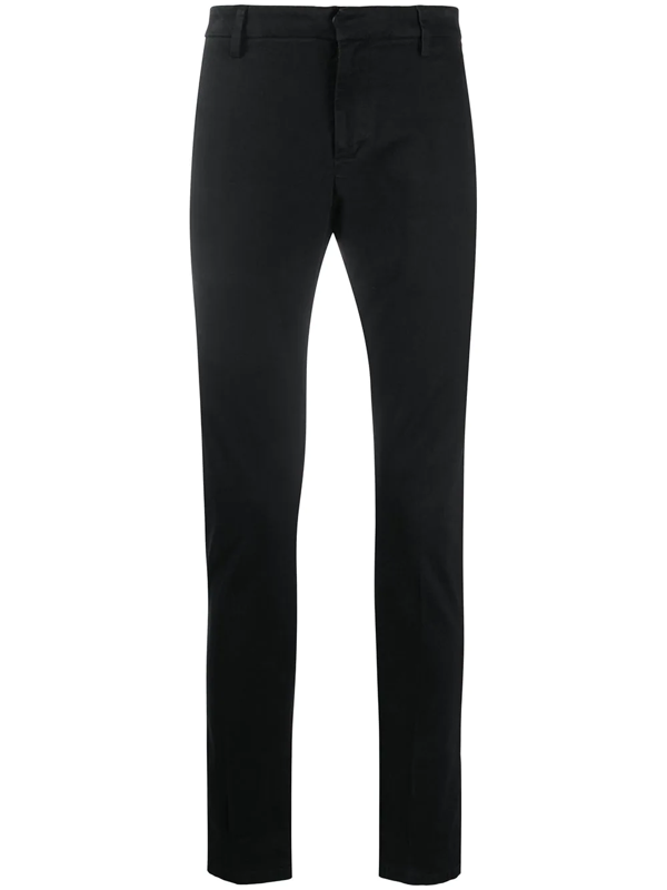 Dondup Slim-fit Trousers In Black