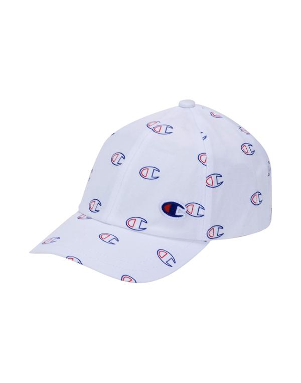 Champion All-over C Logo Baseball Cap White