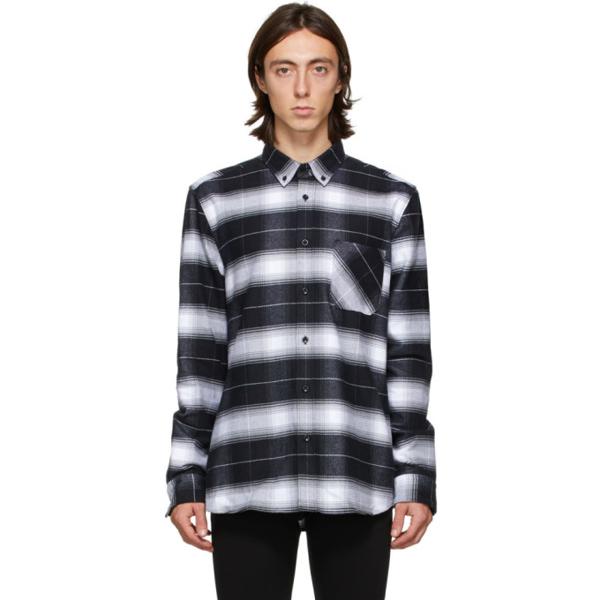 Hugo Men's Ermann Long Sleeve Button Down Shirt With Glen Check Plaid In 1 Black