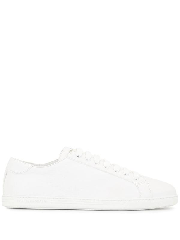 Dolce & Gabbana Saint Tropez Low-top Sneakers In White