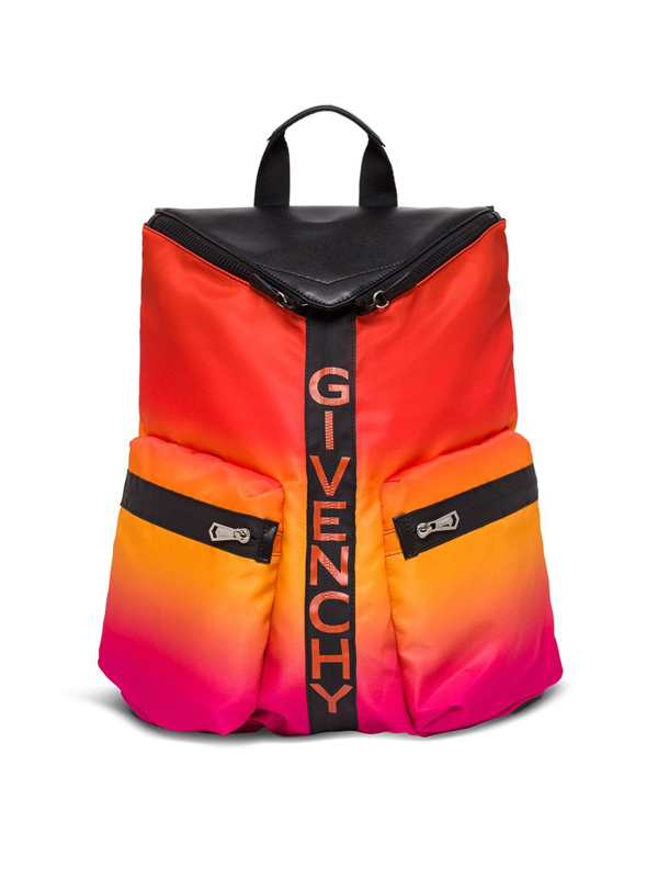 Givenchy Nylon Spectre Backpack In Orange
