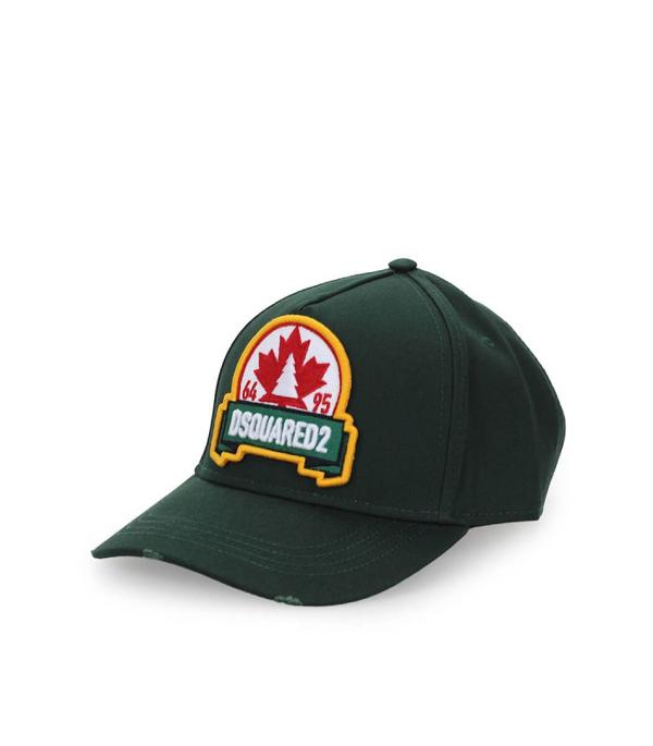 Dsquared2 Leaf Green Baseball Cap