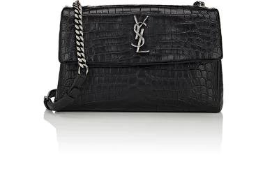 5d9b79269 Saint Laurent Monogram West Hollywood Shoulder Bag - Black | ModeSens