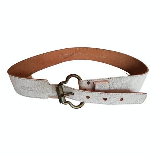Pre-owned Closed Ecru Leather Belt