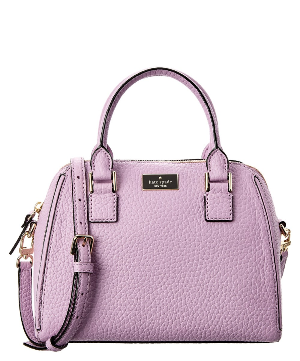 1467ba58862b6 Kate Spade New York Prospect Place Small Pippa Leather Satchel  In Lilac