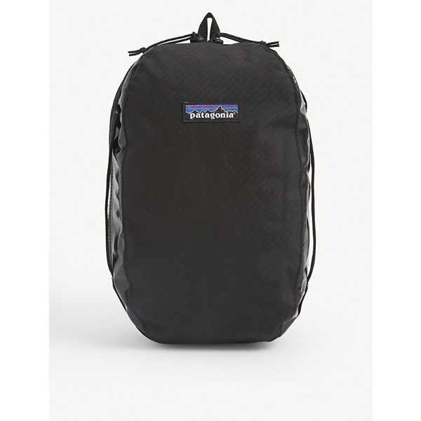 Patagonia Black Hole Medium Woven Packing Cube In Classic Navy