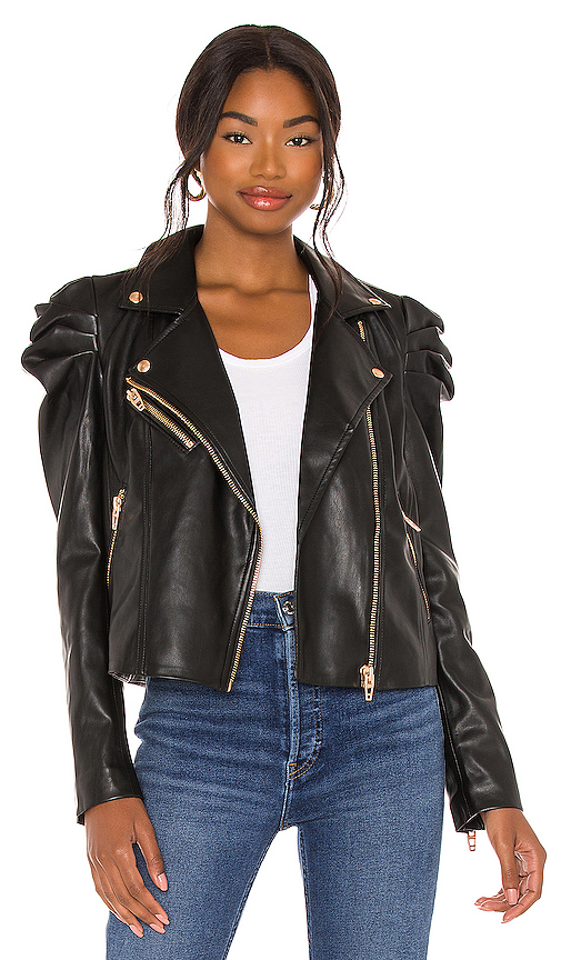 Blanknyc Faux Leather Moto Jacket In Lonestar