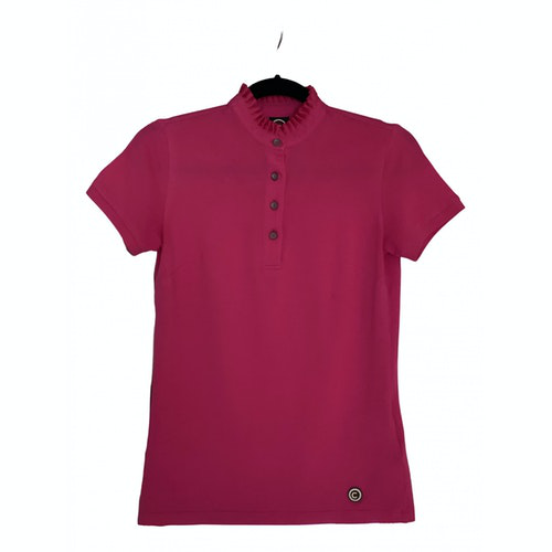 Pre-owned Colmar Pink Cotton  Top