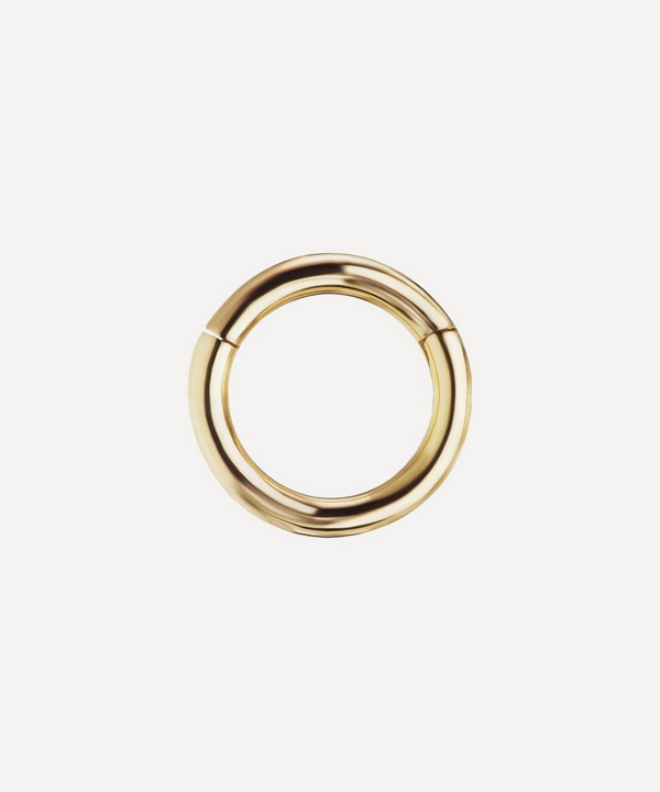 Maria Tash 5mm Plain Hoop Earring In Gold