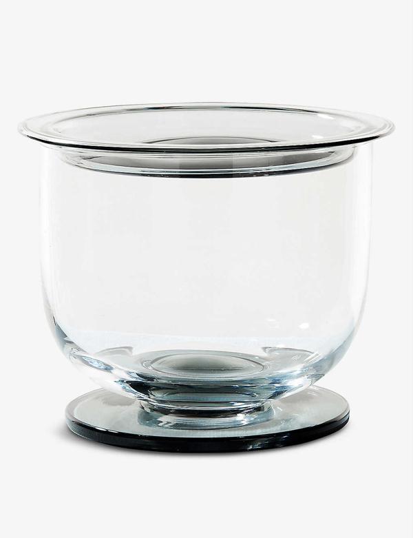Tom Dixon Puck Glass Ice Bucket 19.4cm