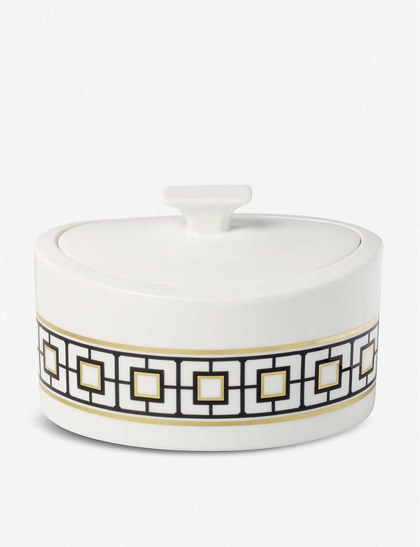 Villeroy & Boch Metrochic Porcelain Gift Box 16cm In Multi