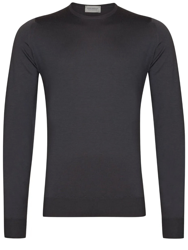 John Smedley Merino Wool Sweater Gray In Grey