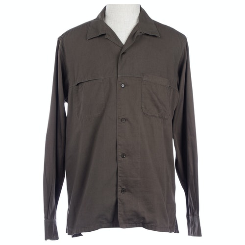 Pre-owned Y's Green Cotton Shirts
