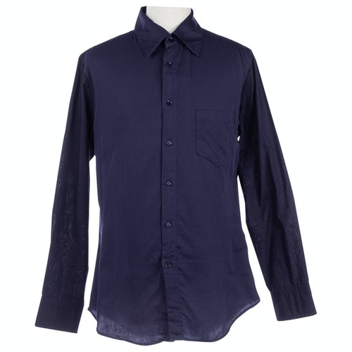 Pre-owned Y's Blue Cotton Shirts