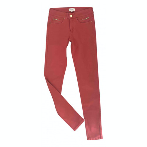 Pre-owned Hoss Intropia Red Denim - Jeans Trousers