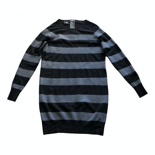 Pre-owned Bogner Black Wool Dress