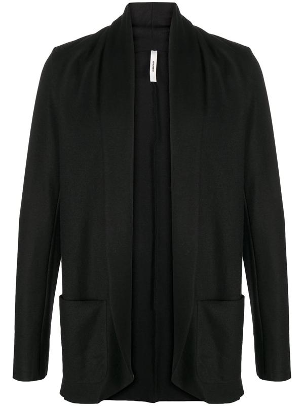 Attachment Shawl-collar Blazer In Black