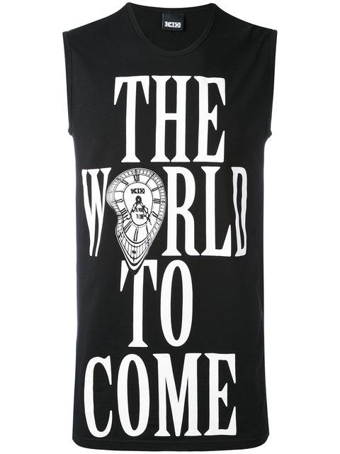 Ktz Slogan Vest Top - Farfetch In Black