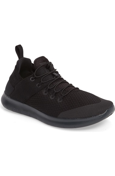 size 40 748e4 8d0b3 Nike Men s Free Rn Commuter 2017 Running Sneakers From Finish Line In  Black Black-
