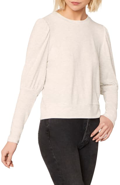 Cupcakes And Cashmere Cashmere And Cupcakes Kacey Sweatshirt In Heather Ash