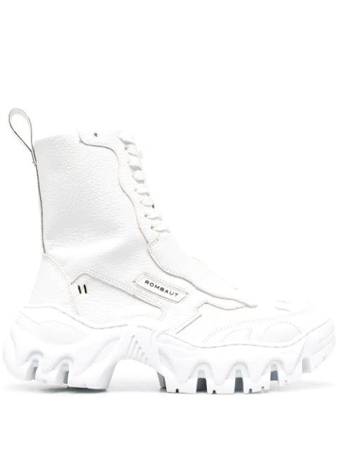 Rombaut Boccaccio Ii Boots In Blue In White
