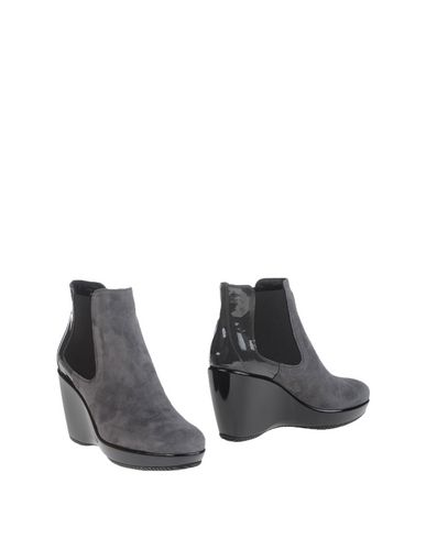 Hogan Ankle Boot In Grey