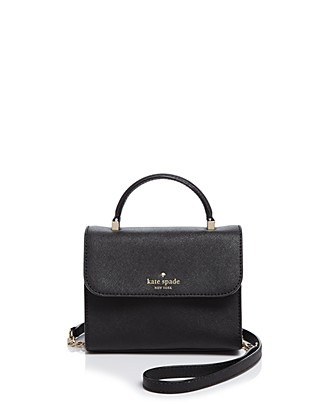 Kate Spade Cedar Street Nora Mini Crossbody Bag, Black