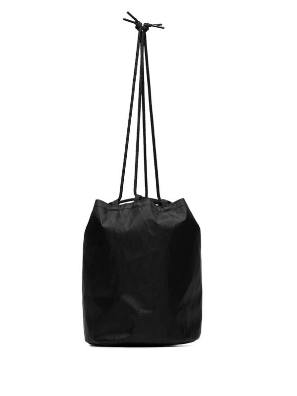 Snow Peak Black X-pac Nylon Kinchaku Bag