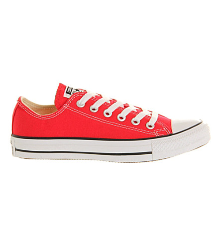 Converse All Star Low-top Sneakers In Red