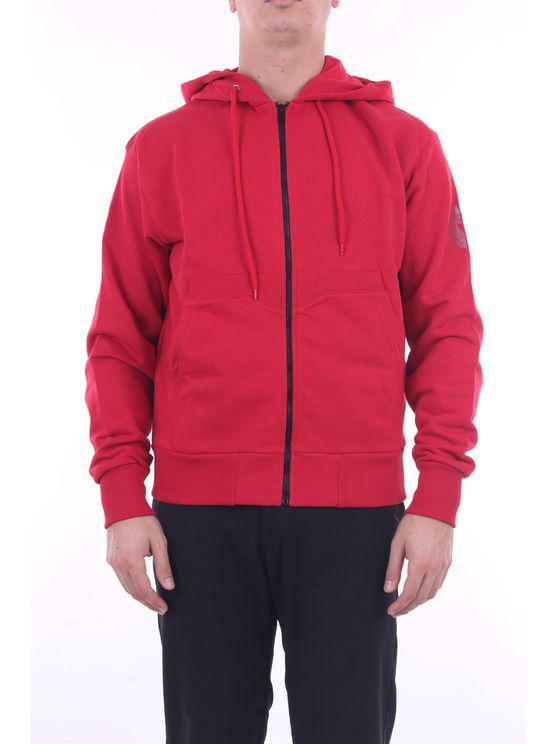 Save The Duck Sweatshirts Hoodies Men Red