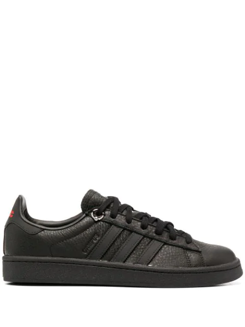 Adidas By 032c X 032c Campus Leather Low-top Sneakers In Black