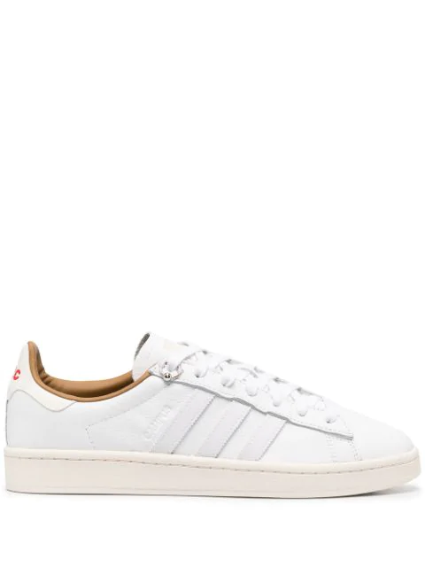 Adidas By 032c X 032c Campus Leather Low-top Sneakers In White