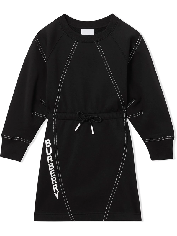 Burberry Kids' Little Girl's & Girl's Laney Sweater Dress In Black