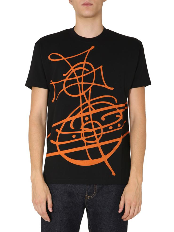 Vivienne Westwood Crew Neck T-shirt In Black