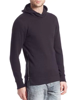 607fd5a7 John Elliott Hooded Villain Sweatshirt In Navy | ModeSens