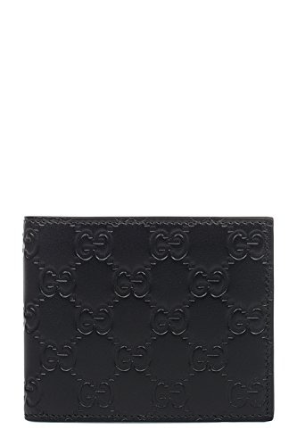 Gucci Signature Leather Wallet In Brown