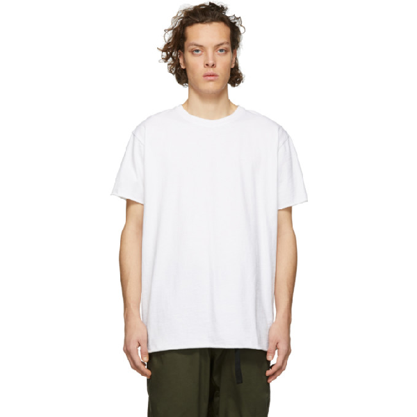 John Elliott Short-Sleeve Crewneck T-Shirt, White