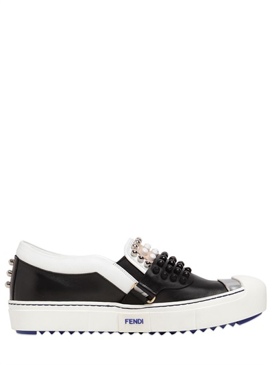 Fendi 'karlito' Slip-on Sneakers