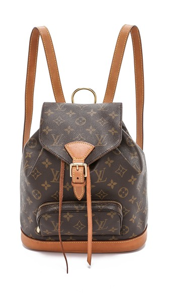 c45bbca0b3b1 What Goes Around Comes Around Louis Vuitton Monogram Montsouris Backpack In  Lv Print