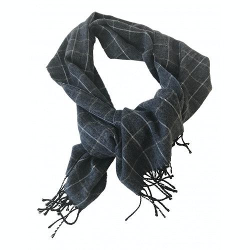 Pre-owned Cerruti 1881 Blue Wool Scarf